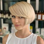 10 Best Bob Haircuts For Thick Hair To Feel Lighter In 10 Ear Length Bob