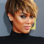 10 Best Celebrity Pixie Cuts For 10 Women's Hair Dark Pixie Cut With Highlights