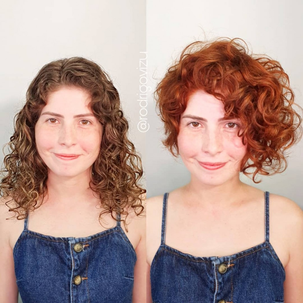 10 Best Haircuts And Hairstyles For Short Curly Hair In 10 Asymmetrical Curly Haircut