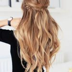 10 Best Half Ponytails To Consider In 10 – HairstyleCamp Half Ponytail With Curls