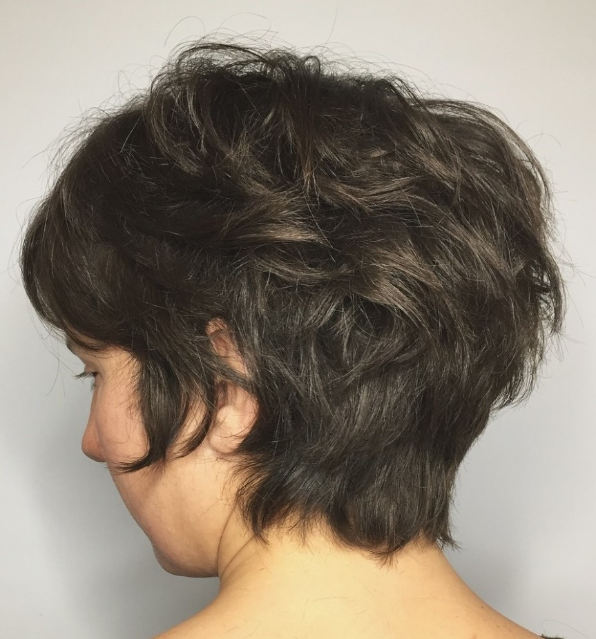 10 Best Short Hairstyles For Thick Hair In 10 Hair Adviser Pixie Cut For Thick Curly Hair
