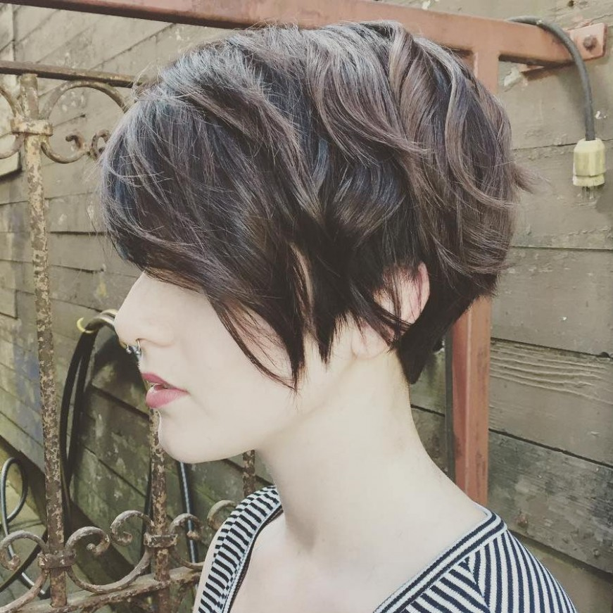 10 Best Short Hairstyles For Thick Hair In 10 Hair Adviser Pixie Cut For Thick Wavy Hair