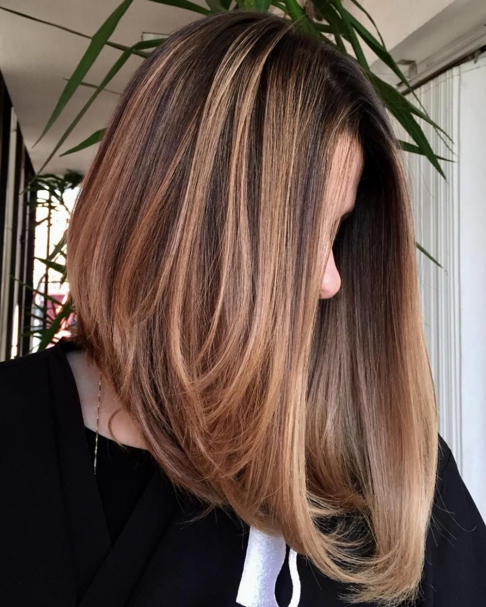 10 Chic Long Inverted Bobs To Inspire Your 1019 Makeover Angled Long Angled Bob