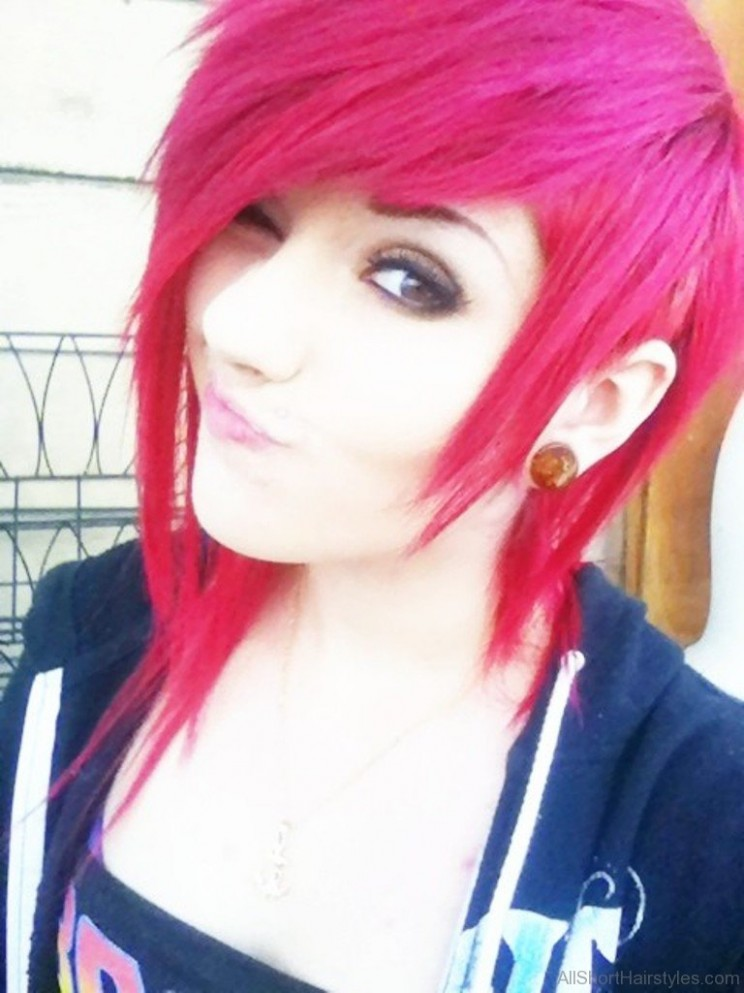 10 Colored Short Emo Hairstyles For Girls Short Emo Hairstyles