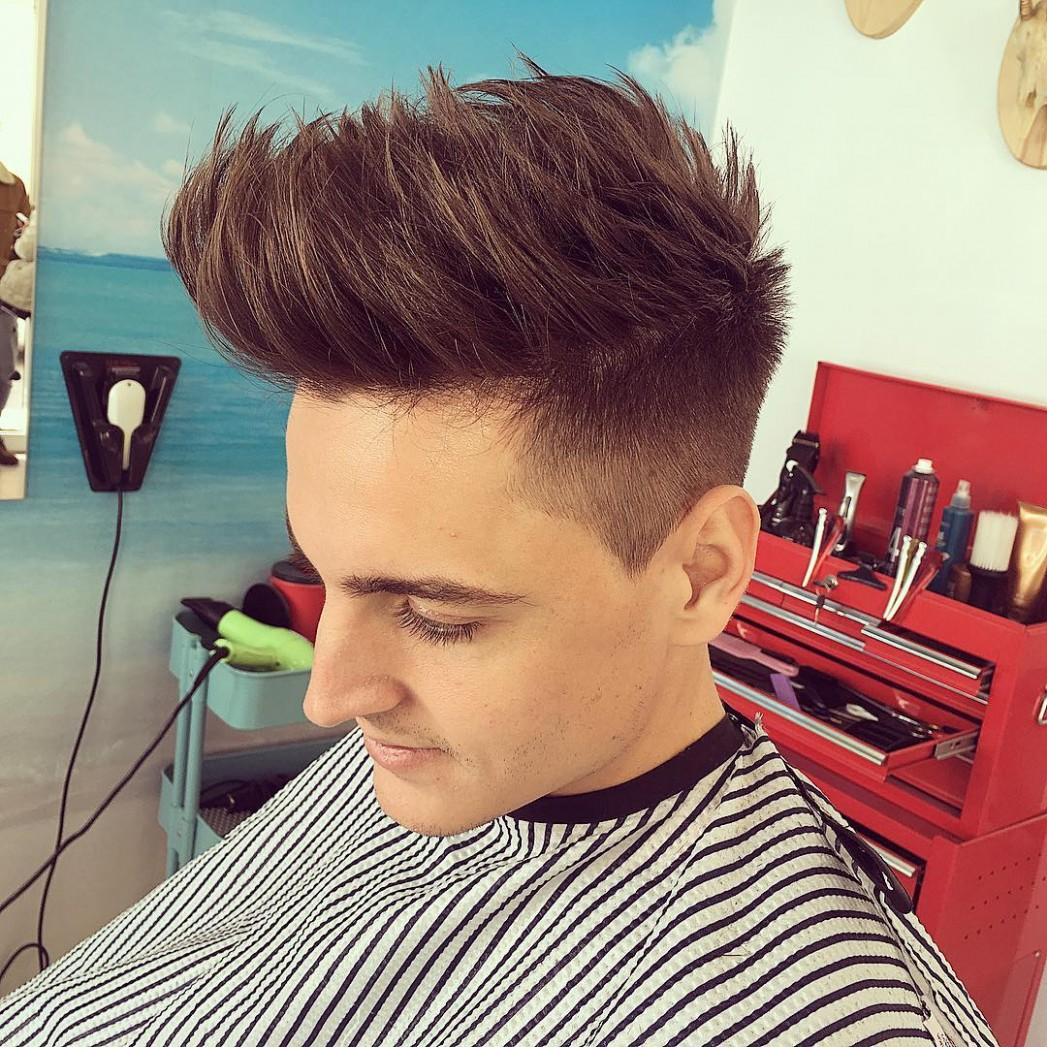 10 Cool And Classy Spiky Hairstyles For Men Haircuts Spiky Hairstyles For Medium Length Hair