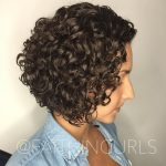 10 Curly Bob Ideas – Top 10's Hairstyles For Every Type Of Curl Inverted Bob Curly Hair