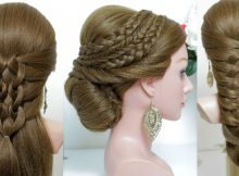 10 cute and easy hairstyles for long hair tutorial.