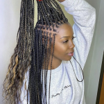 10 Cute Box Braids Hairstyles To Try In 10 Glamour Box Braids On Very Short Hair