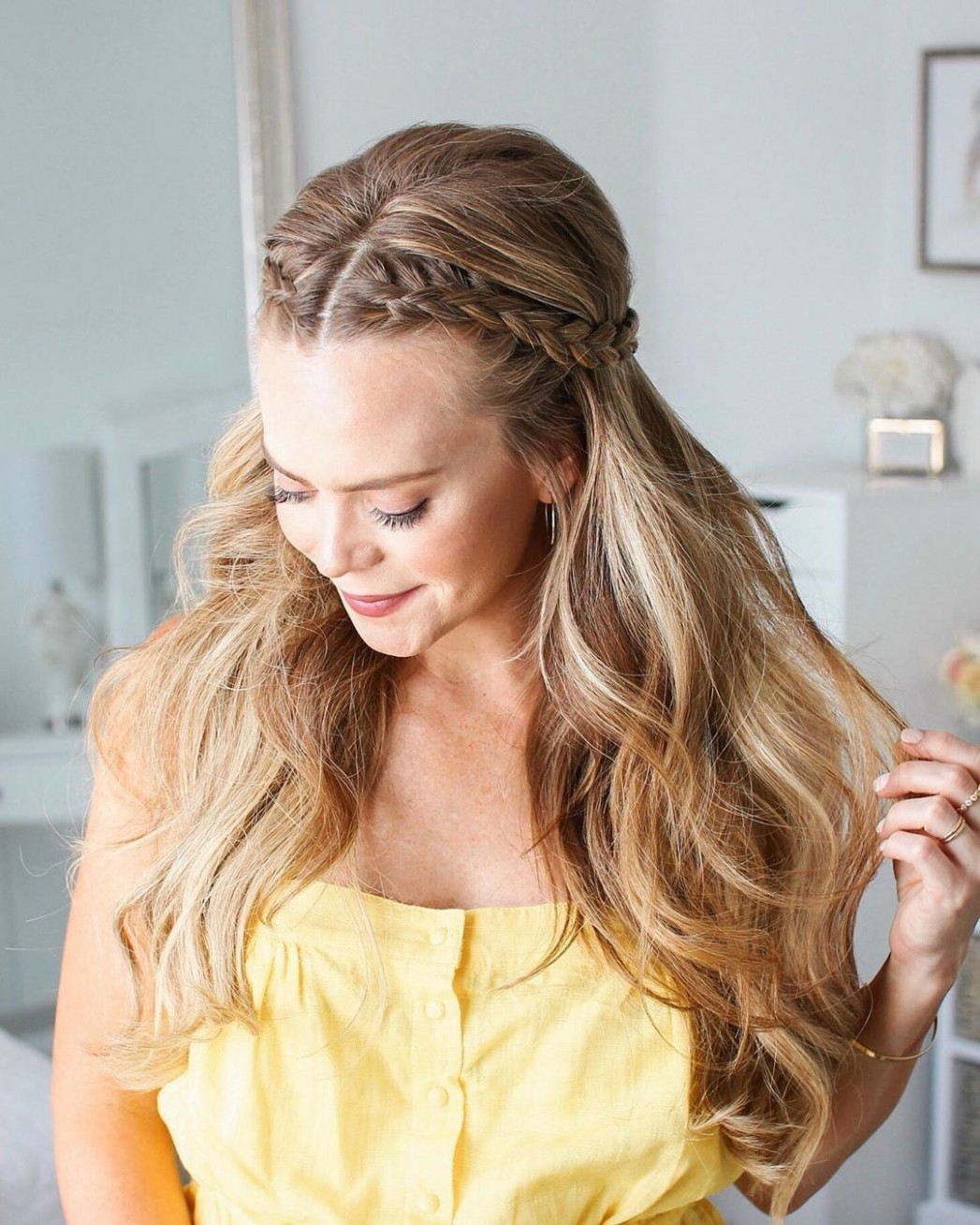 10 Easy Hairstyles for Long Hair You Can Actually Do on Yourself