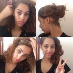 10 Easy Hairstyles For Naturally Curly Hair #curly #hairstyles Hairstyles For Very Curly Hair