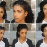 10 Easy Hairstyles For Naturally Curly Hair #curly #hairstyles Hairstyles To Do With Short Curly Hair