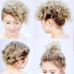 10 EASY HAIRSTYLES FOR SHORT HAIR With Curling Iron Milabu Hairstyles To Do With Short Curly Hair