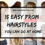 10 Easy Prom Hairstyles For Long Hair You Can DIY At Home Prom Straight Hairstyles