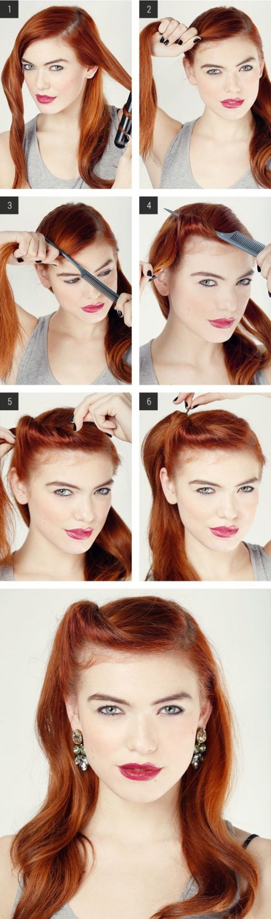 10 Elegant Retro Hairstyles 1021 Vintage Hairstyles For Women Retro Hairstyle For Long Hair