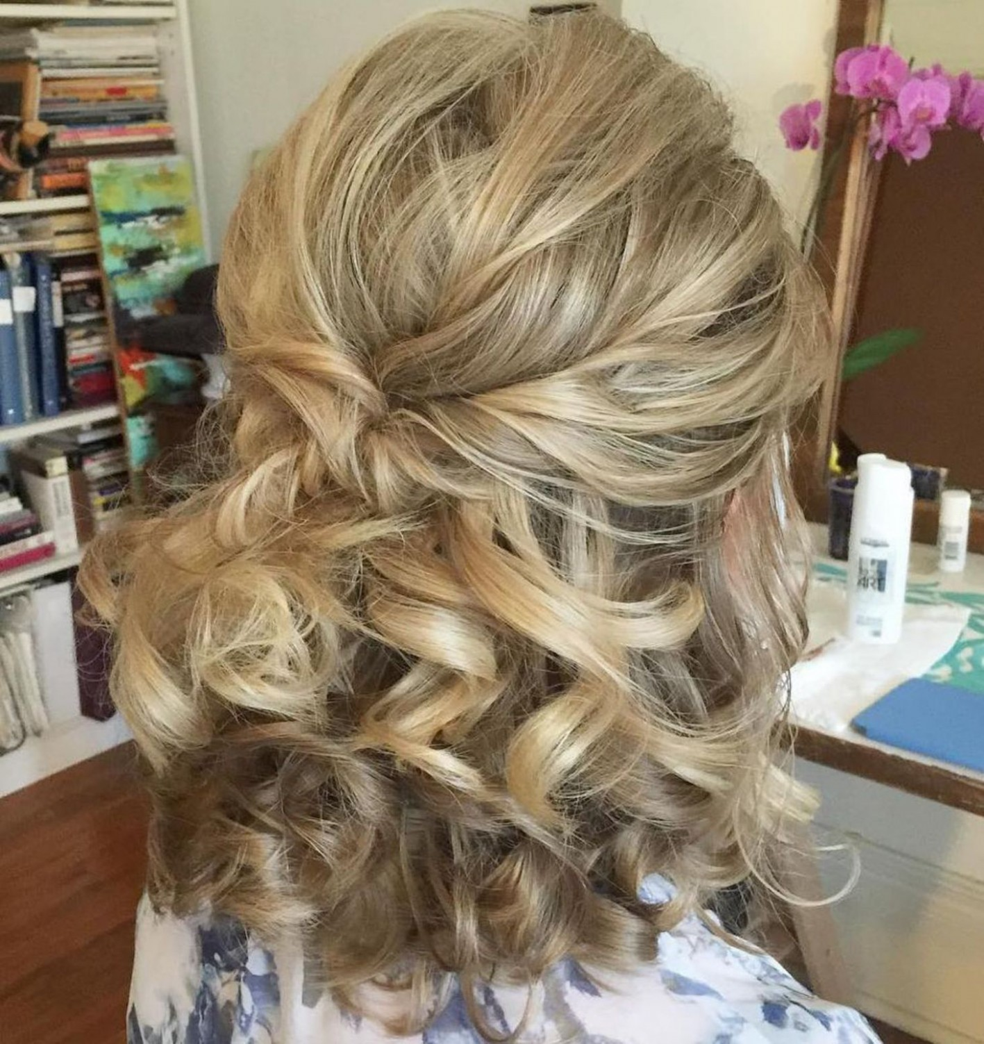 10 Half Updos For Your Perfect Everyday And Party Looks Hair Half Updos For Medium Length Hair