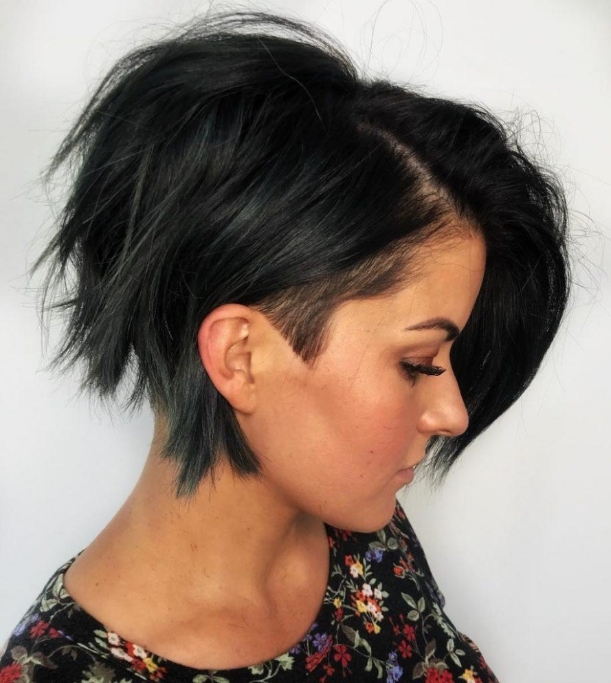 10 Hot Graduated Bob Haircuts For Women Of All Ages (10 Update) Shaved Bob Hairstyles