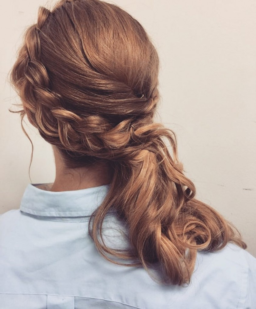 10 Hottest Side Swept Hairstyles To Try In 10 Side Swept Hairstyles For Long Hair