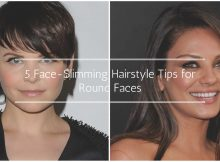 10 Life-Saving Face-Slimming Hairstyle tips for Round Faces
