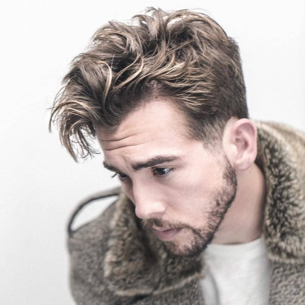 10 Messy Hairstyles For Men > Super Cool Styles For 10 Short Messy Hair Men