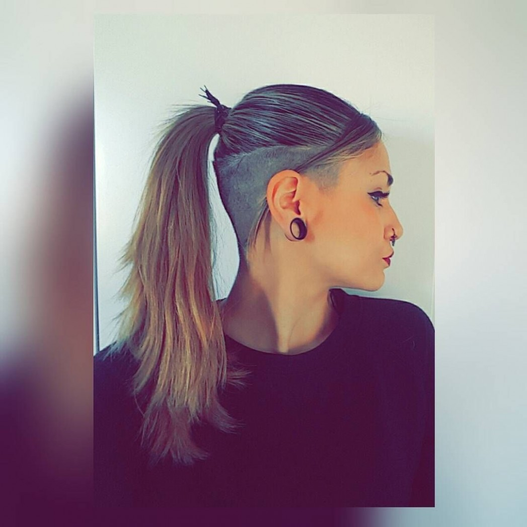 10 Most Interesting Undercut Hairstyles For Women (With Images Undercut Long Hair Women