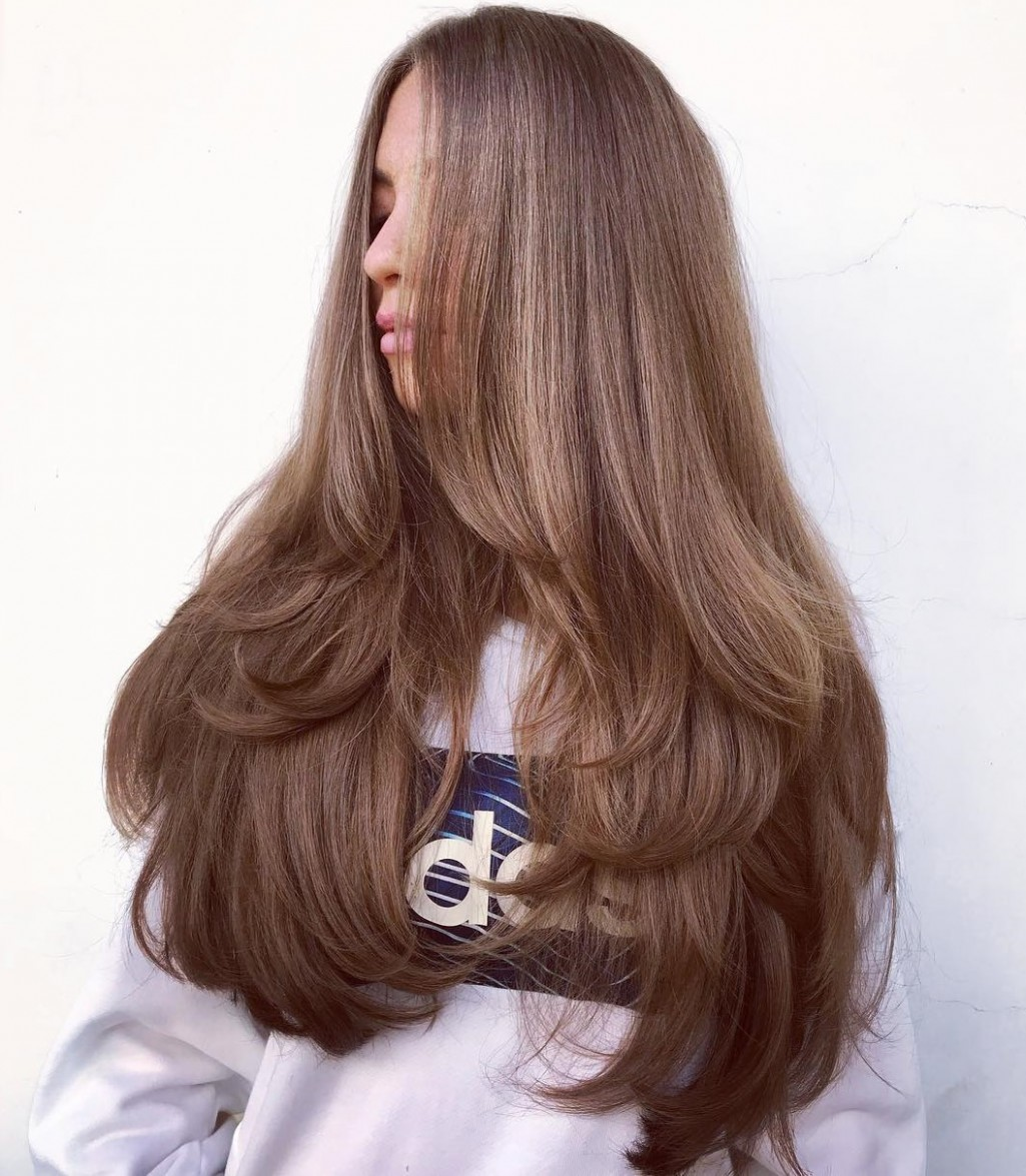 10 NEW Long Hairstyles With Layers For 10 Hair Adviser Cutting Long Hair