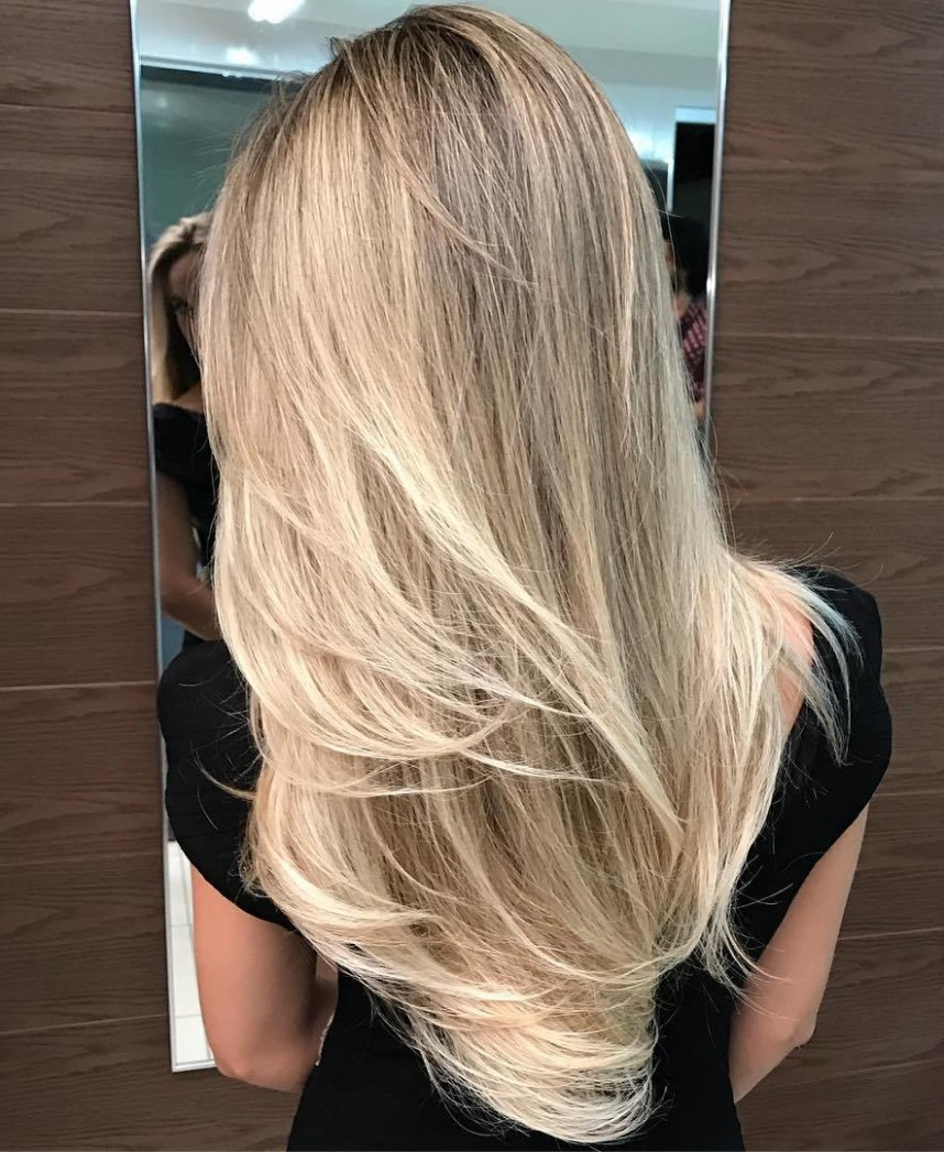10 NEW Long Hairstyles With Layers For 10 Hair Adviser Long Blonde Haircuts