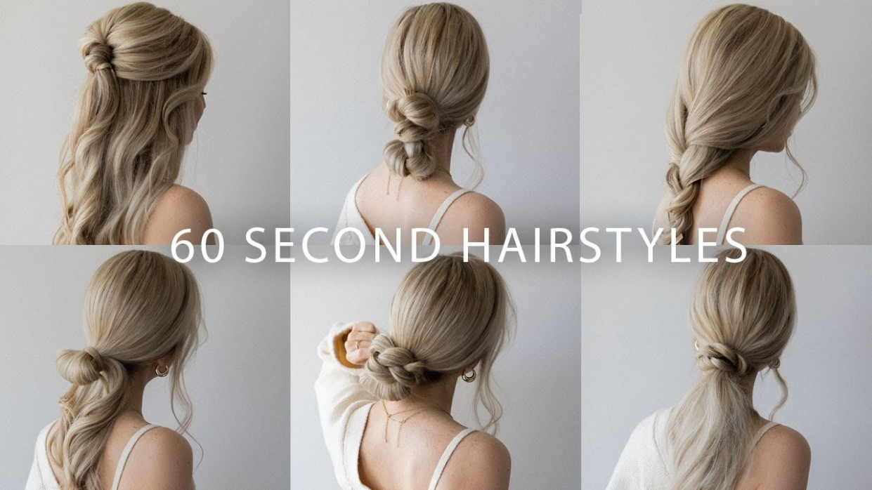 10 QUICK & EASY HAIRSTYLES Cute Long Hair Hairstyles Hairstyles For Long Hair