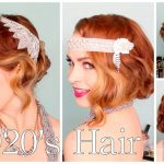 10's Faux Bob, And Updo Tutorial!! Gatsby Hairstyle For Long Hair