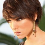 10 Stylish Hairstyles For Brunettes Pretty Designs Short Brunette Hairstyles