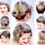 10 SUPER EASY HAIRSTYLES WITH BOBBY PINS FOR SHORT HAIR Milabu Fun Hairstyles For Short Hair