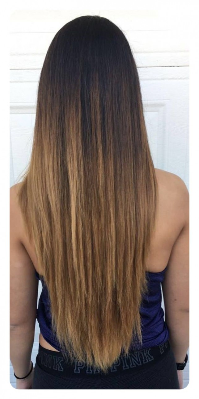 10 V Cut And U Cut Hairstyles To Give You The Right Angle V Shaped Layered Haircut