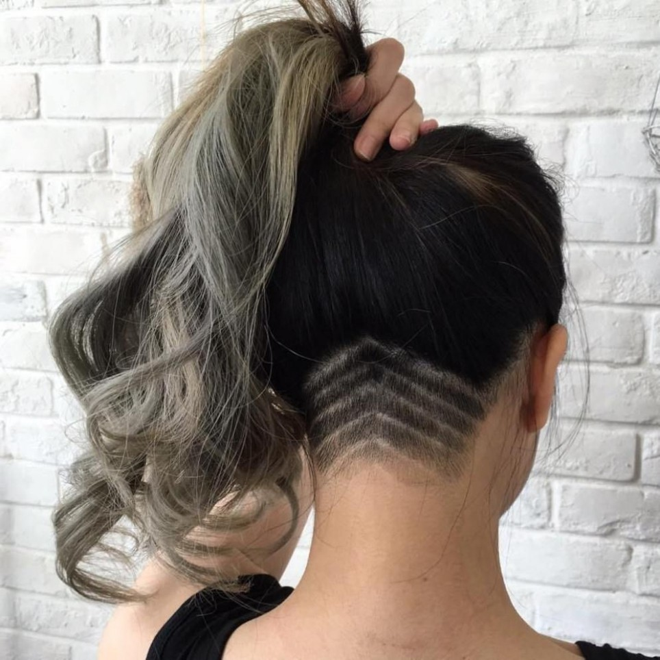 10 Women's Undercut Hairstyles To Make A Real Statement Undercut Undercut Long Hair Women
