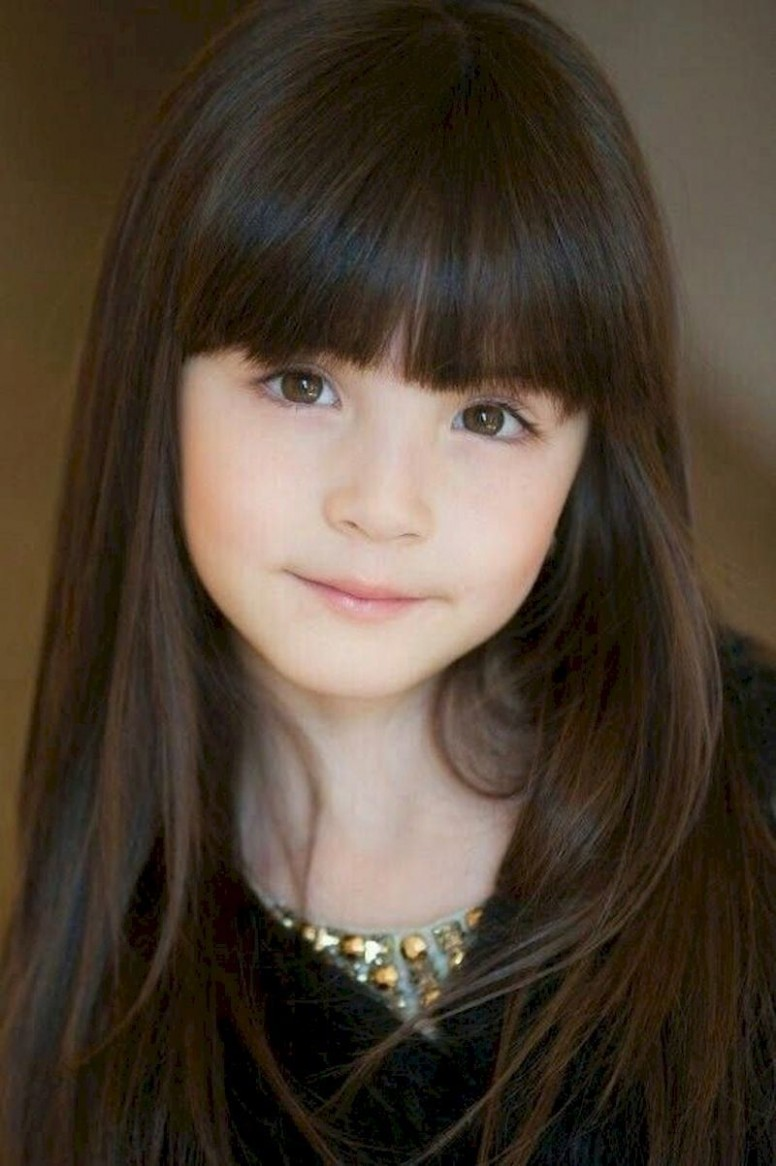 11 Back To School Hairstyles For Your Little Girl » SeasonOutfit Little Girl Long Haircuts With Bangs