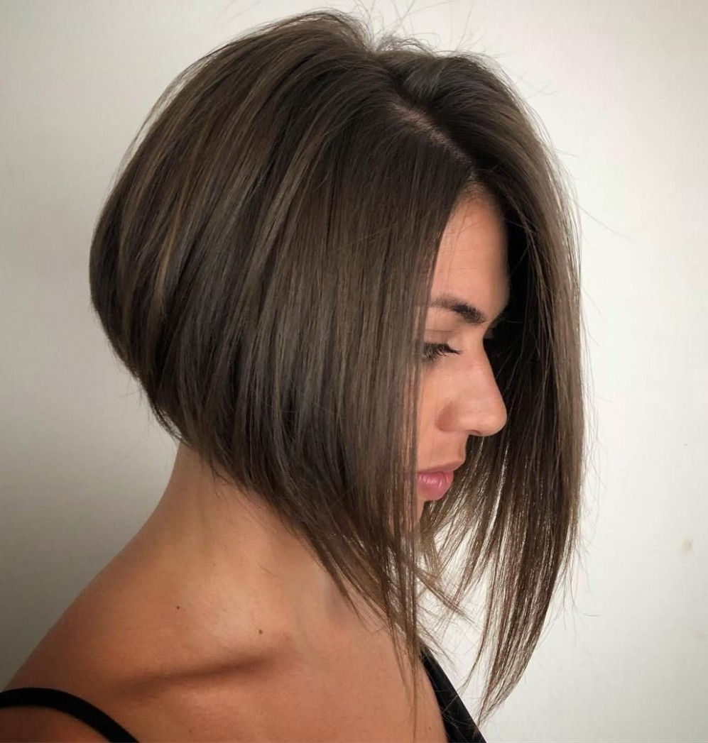 11 Best A Line Bob Hairstyles Screaming With Class And Style Sharp Angled Bob