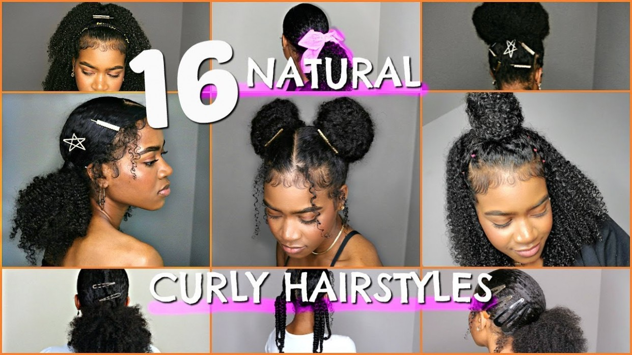 11 BEST BACK TO SCHOOL NATURAL/CURLY HAIRSTYLES (BUNS, PROTECTIVE, PUFFS, RUBBERBAND & MORE STYLES) Curly Hairstyles For School