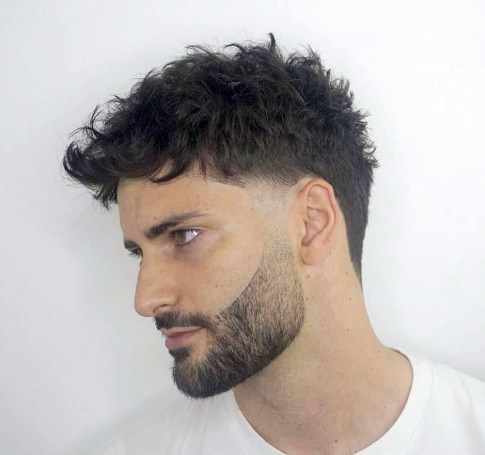 11 Best Curly Hairstyles & Haircuts For Men -> 11 Trends