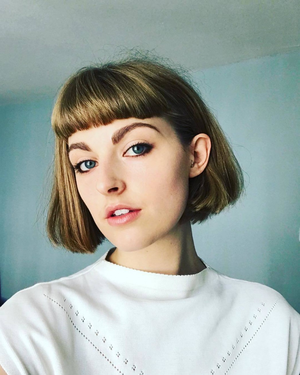 11 Best French Bob Hairstyles & Haircuts Trending In 11 All Micro Bob Haircut