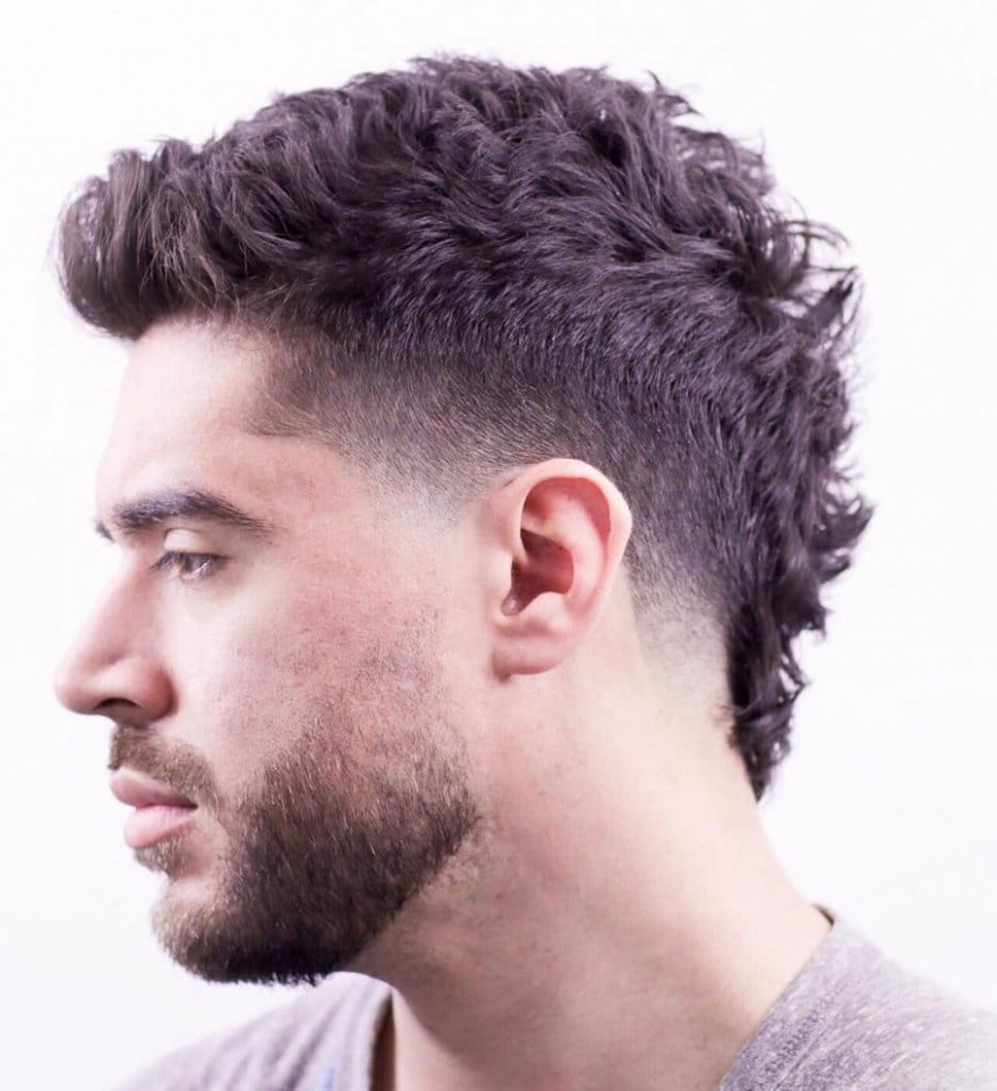 11 Best Mohawk Fade Haircuts For Men That Are Totally Cool