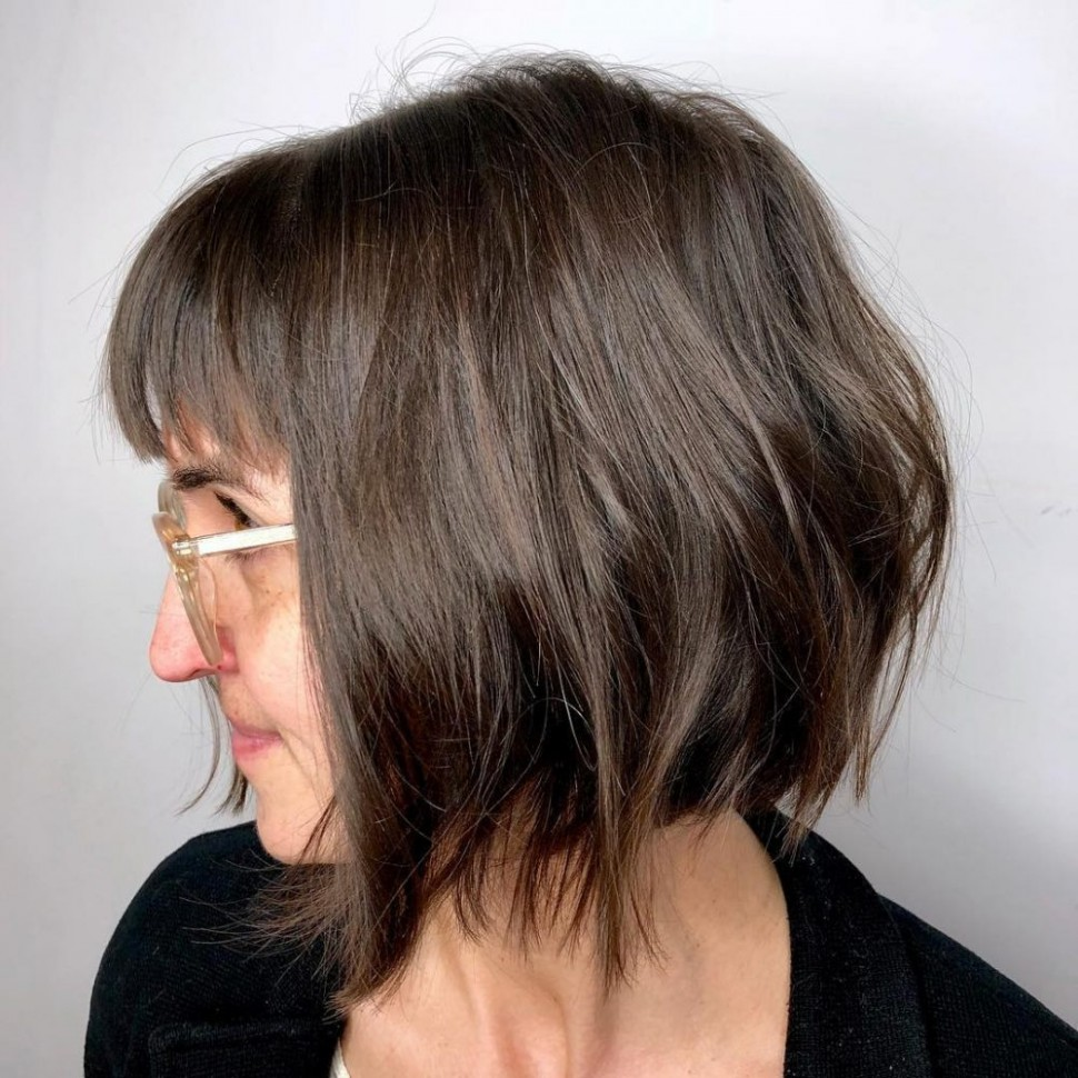 11 Best Short Hairstyles For Thin Hair To Look Cute Short Hair With Thin Bangs