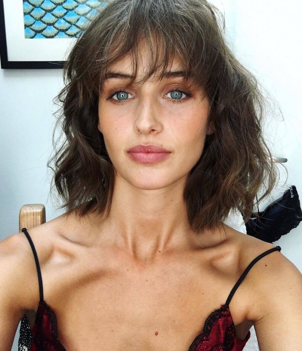 11 Best Wispy Bangs Styles You Have To See (11 Update) Short Hair With Thin Bangs
