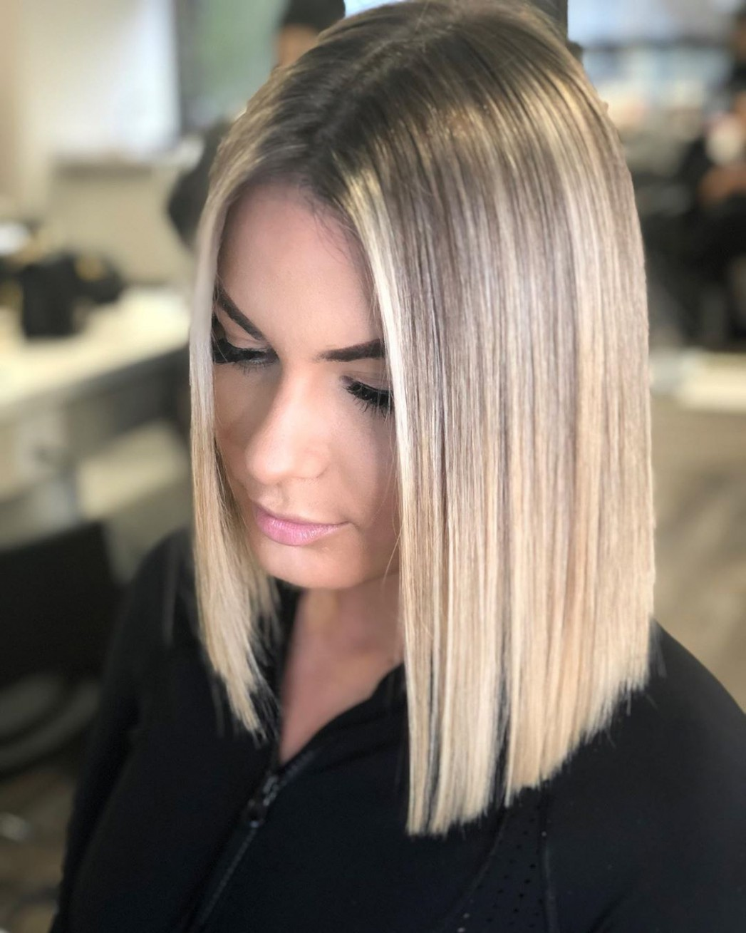 11 Blunt Cuts And Blunt Bobs That Are Dominating In 11 Hair Medium Blunt Cut
