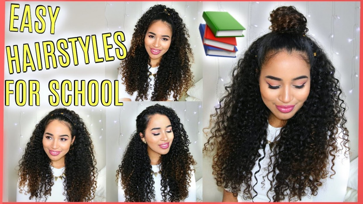 11 BUILDABLE BACK TO SCHOOL HAIRSTYLES FOR NATURALLY CURLY HAIR Lana Summer Curly Hairstyles For School