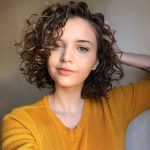 11 Cute; Easy Hairstyles For Girls With Curly Hair Curly Girl Short Curly Hairstyles For Girls