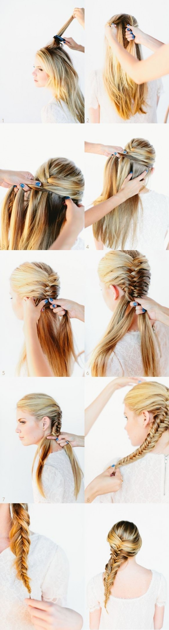 11 Cute Hairstyles: Step By Step Hairstyles For Long Hair Hairstyles For Long Hair Step By Step