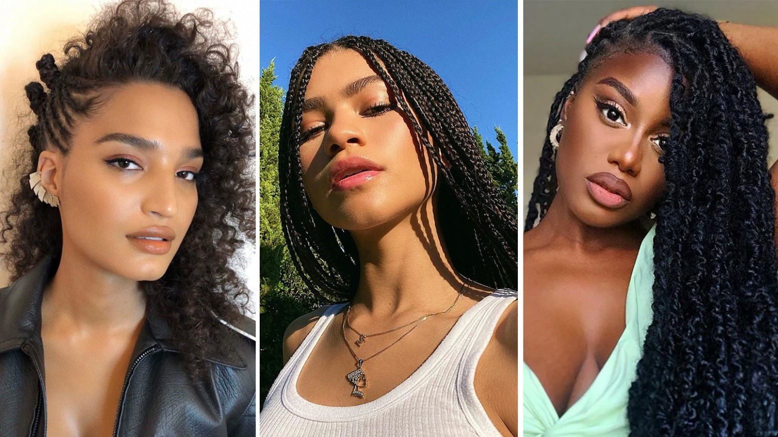 11 Cute Natural Hairstyles That Are Easy to Do at Home  Glamour