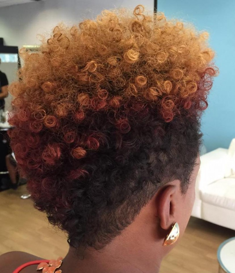 11 Cute Tapered Natural Hairstyles For Afro Hair Tapered Natural Haircut