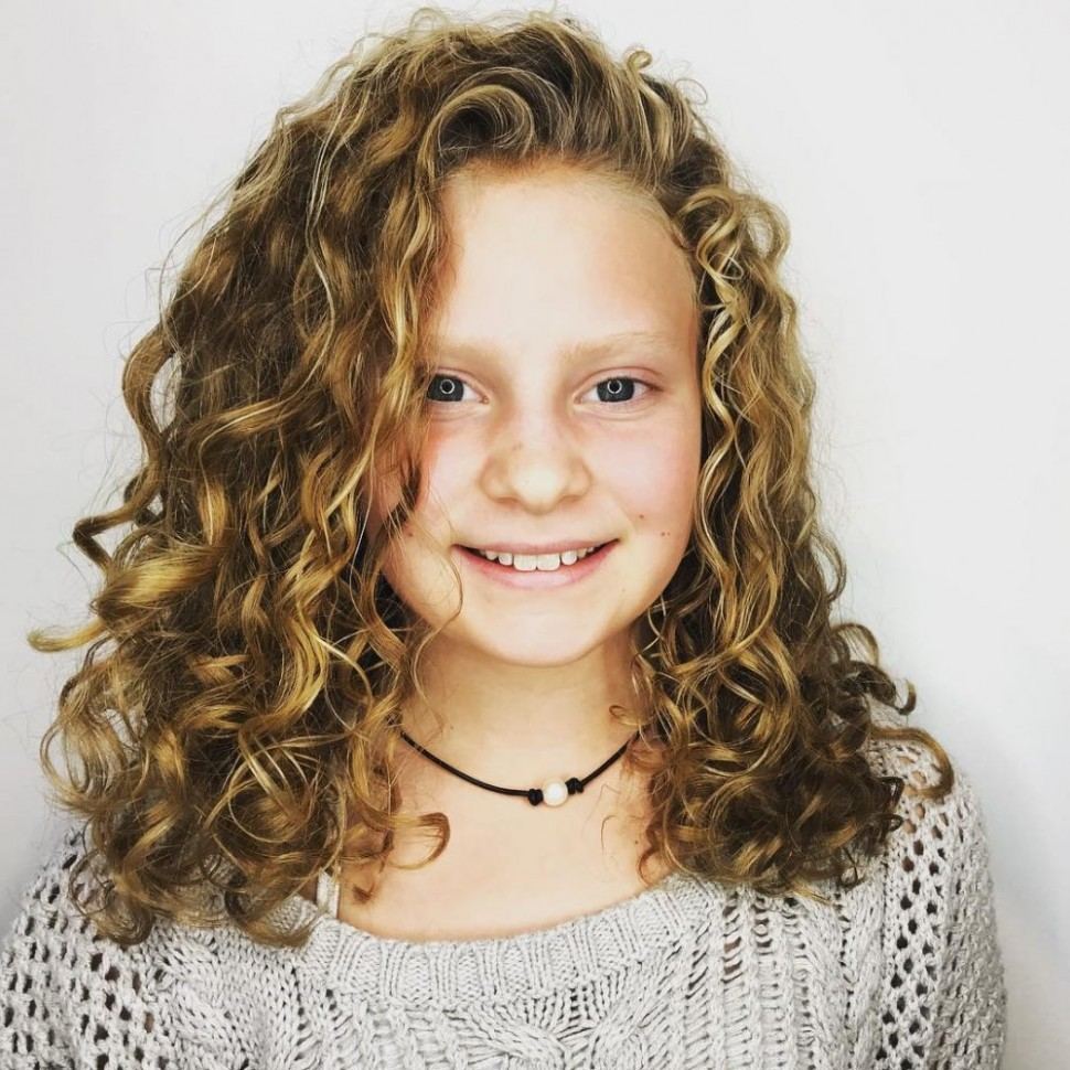 11 Cutest Hairstyles For Curly Hair Girls Little Girls, Toddlers Little Girl Curly Haircuts