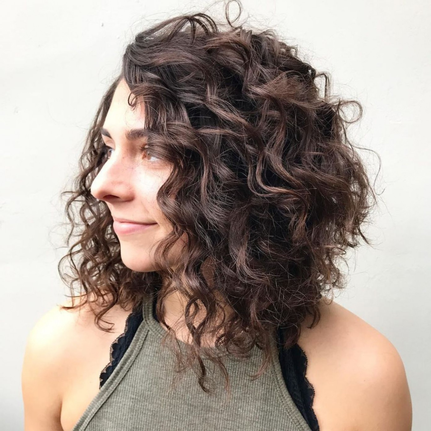 11 Different Versions Of Curly Bob Hairstyle Curly Lob, Curly Lob Haircut For Curly Hair