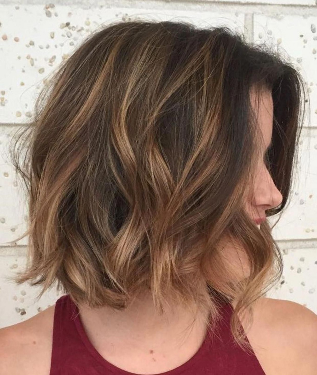11 Different Versions of Curly Bob Hairstyle  Wavy bob hairstyles