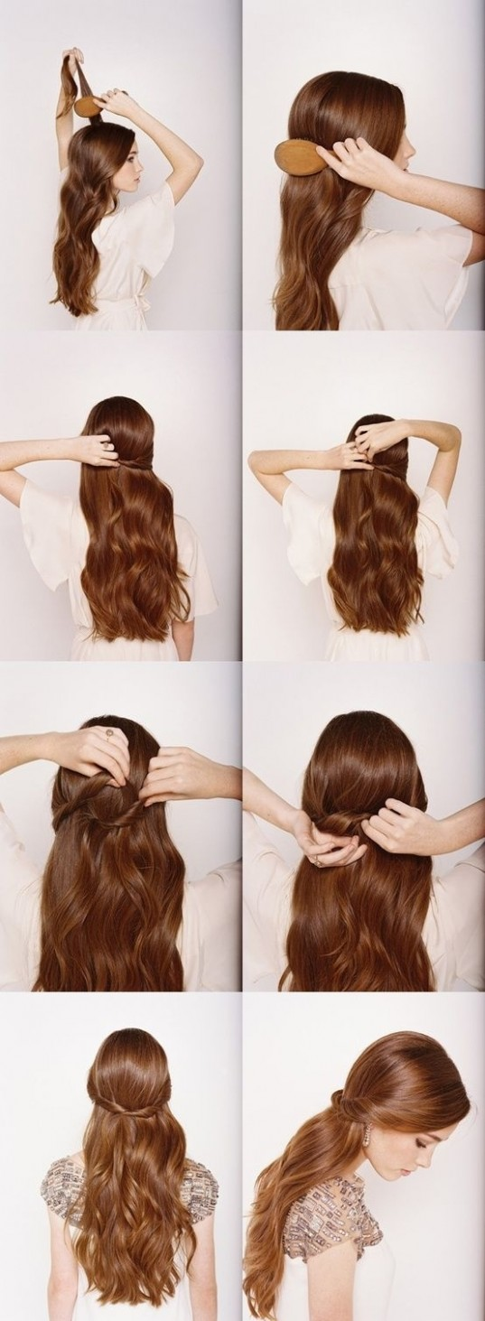 11 Easy 11 Minutes Hairstyles For Women Hairstyles Weekly Hairstyles For Long Hair Step By Step